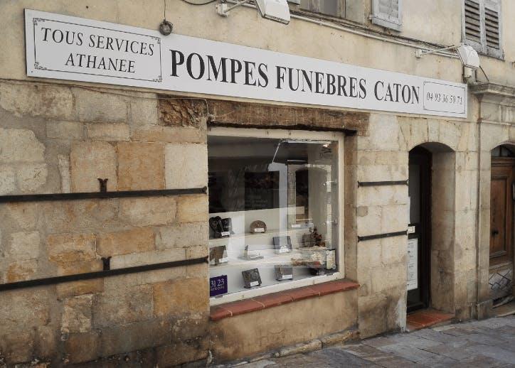 Photographie de la Pompes Funèbres et Marbrerie CATON à Grasse