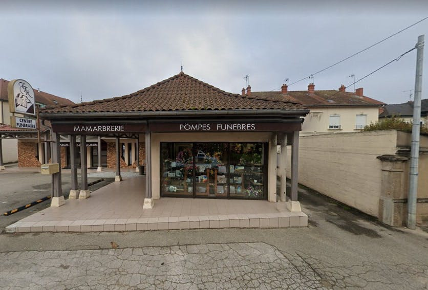 Photographie du Centre Funéraire Rolet de Louhans