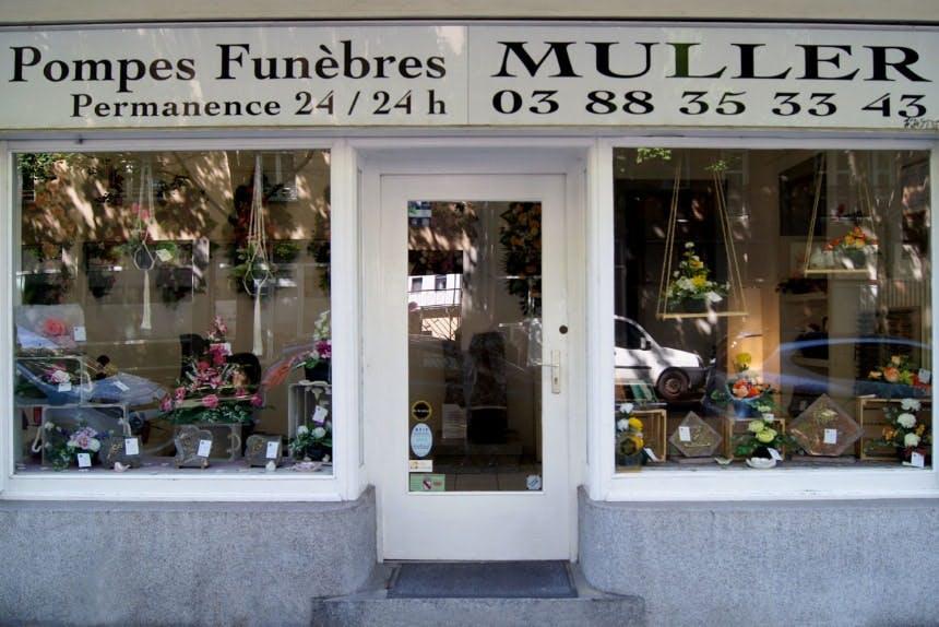 Photographie des Pompes Funèbres Muller