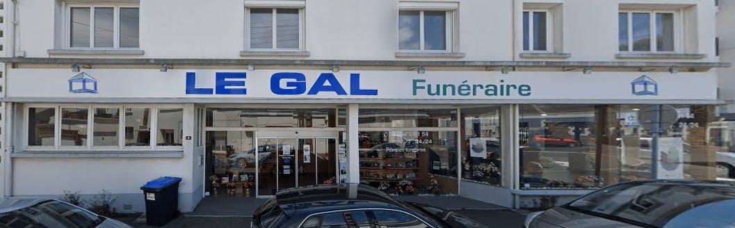 Photographie du GAL Funéraire à Saint-Nazaire