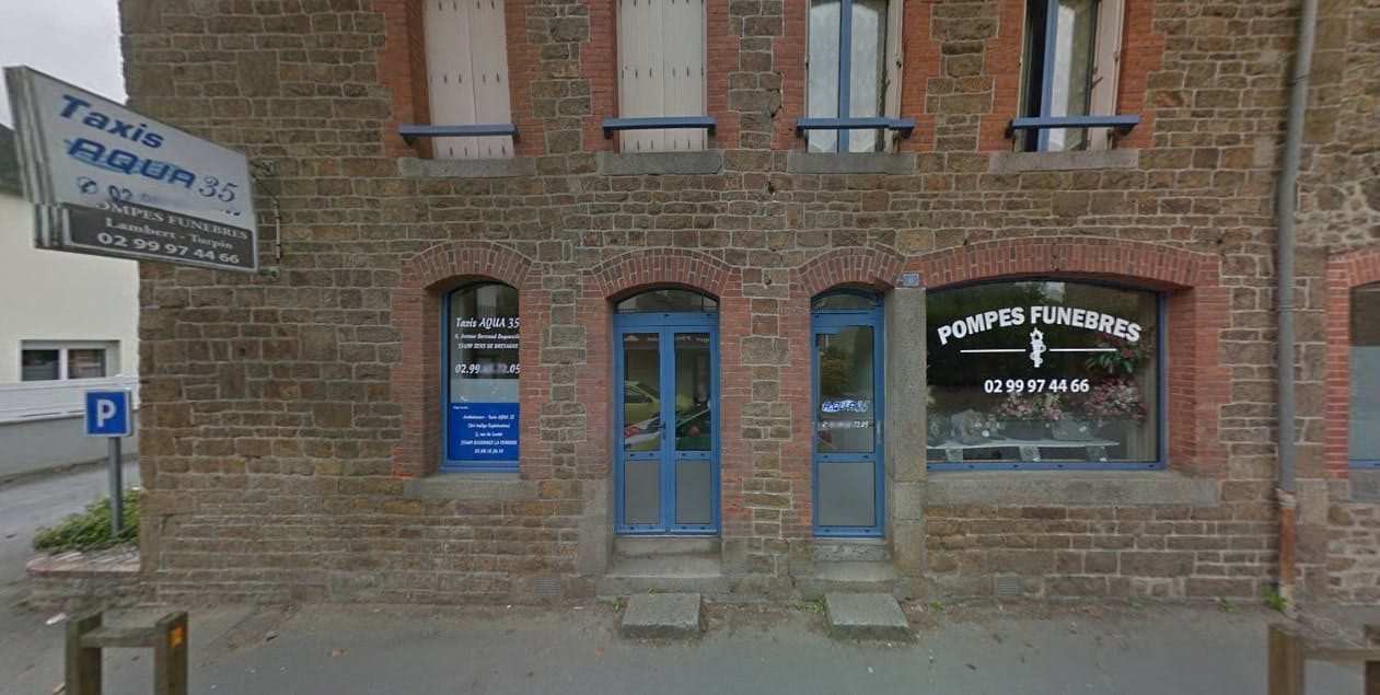 Photographies des Pompes Funèbres Lambert-Turpin à Sens-de-Bretagne
