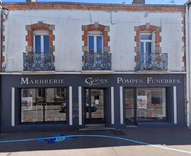 Photographie de la Pompes Funèbres et Marbrerie GUERIN de la ville de Quiberon