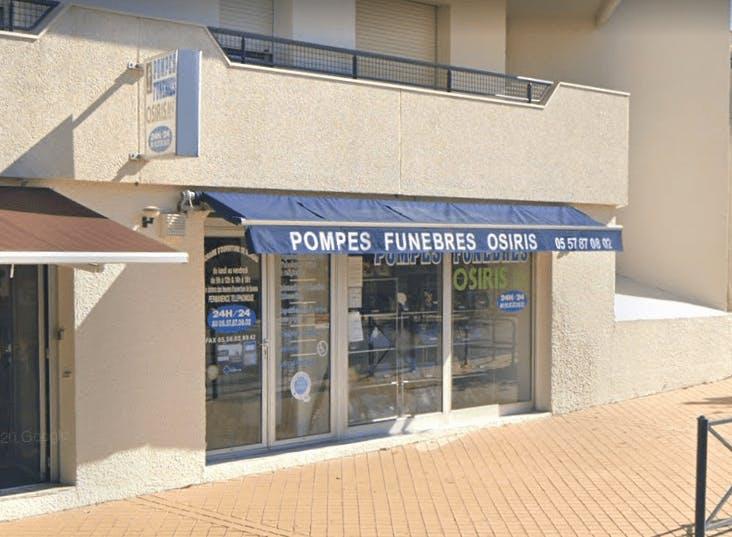 Photographie de la Pompes Funèbres Osiris à Le Bordeaux