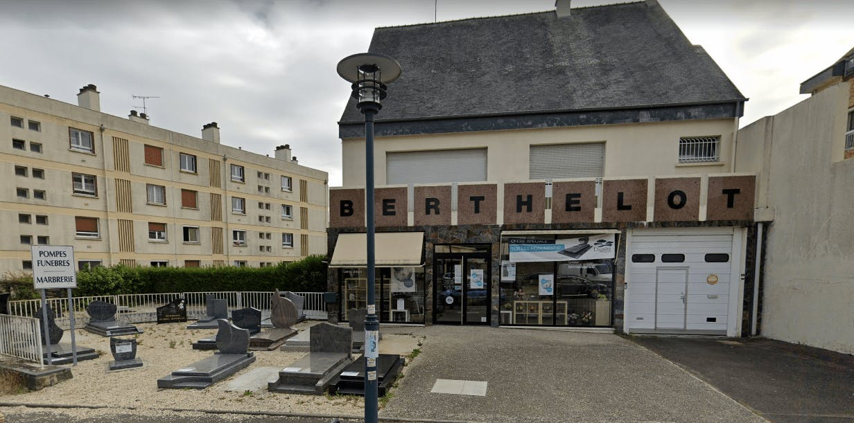 Photographie Pompes Funèbres Marbrerie BERTHELOT à Rennes