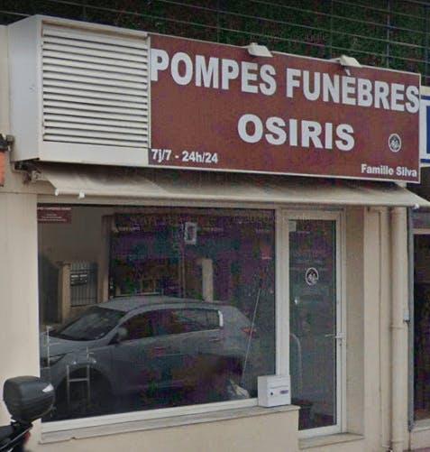 Photographie de la Pompes Funèbres OSIRIS à Cannes