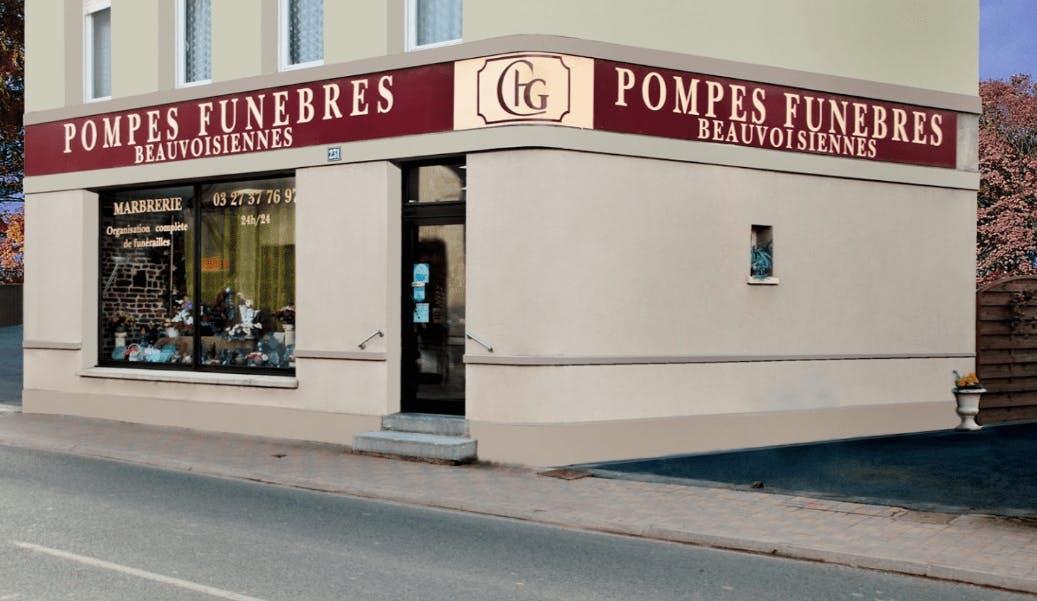 Photographie Pompes Funèbres GERNEZ de Beauvois-en-Cambrésis