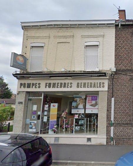 Photographies des Pompes Funèbres Genérales à Bruay-l'Escaut