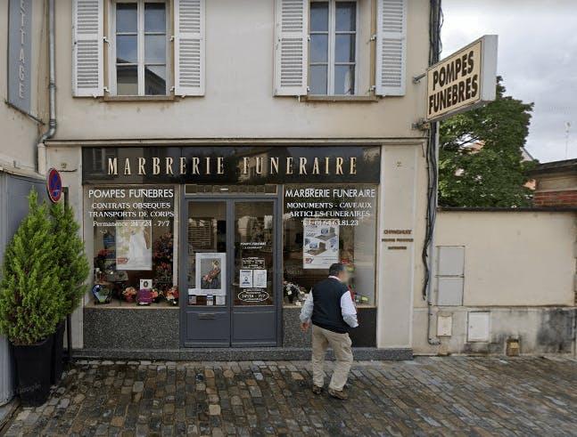 Photographie Pompes Funèbre Chambault de Crécy-la-Chapelle