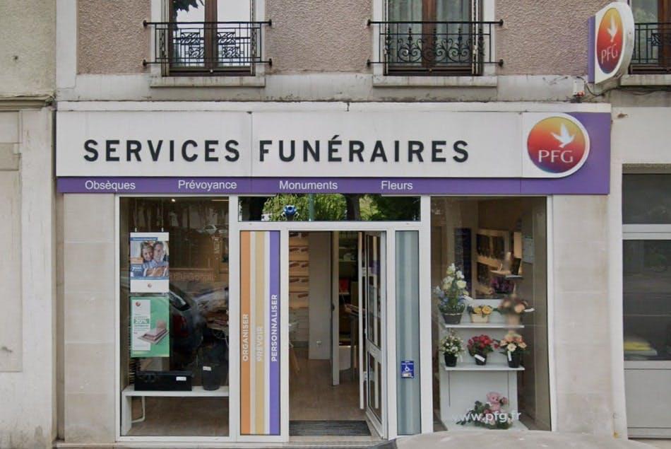 Photographies des Pompes Funèbres Genérales à La Garenne-Colombes