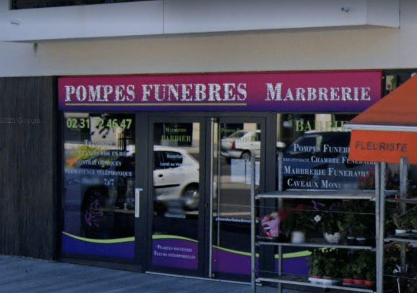Photographie Marbrerie Pompes Funèbres Barbier de Mondeville