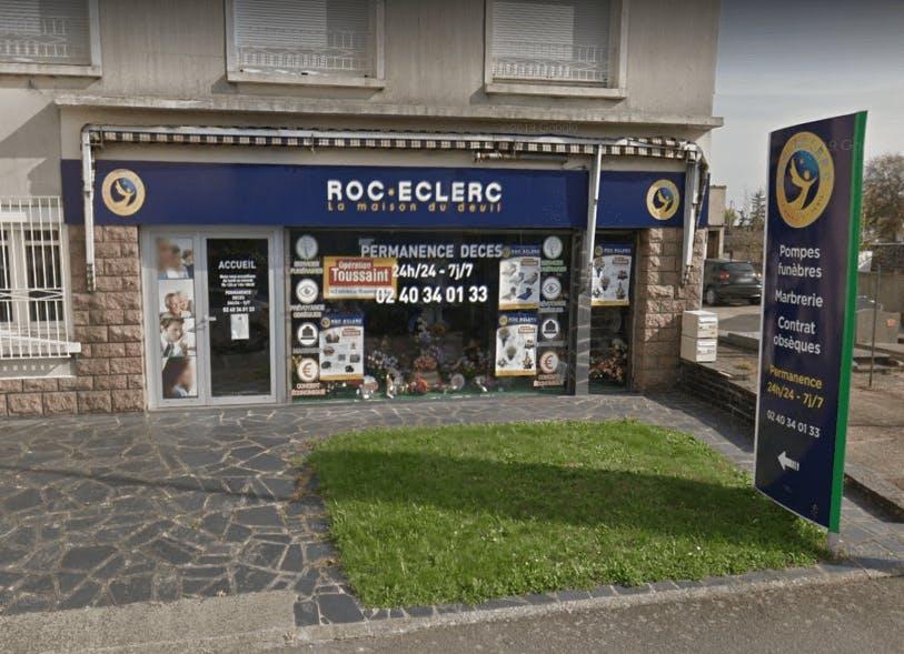 Photographie Pompes Funèbres Roc-Eclerc de Saint-Sébastien-sur-Loire