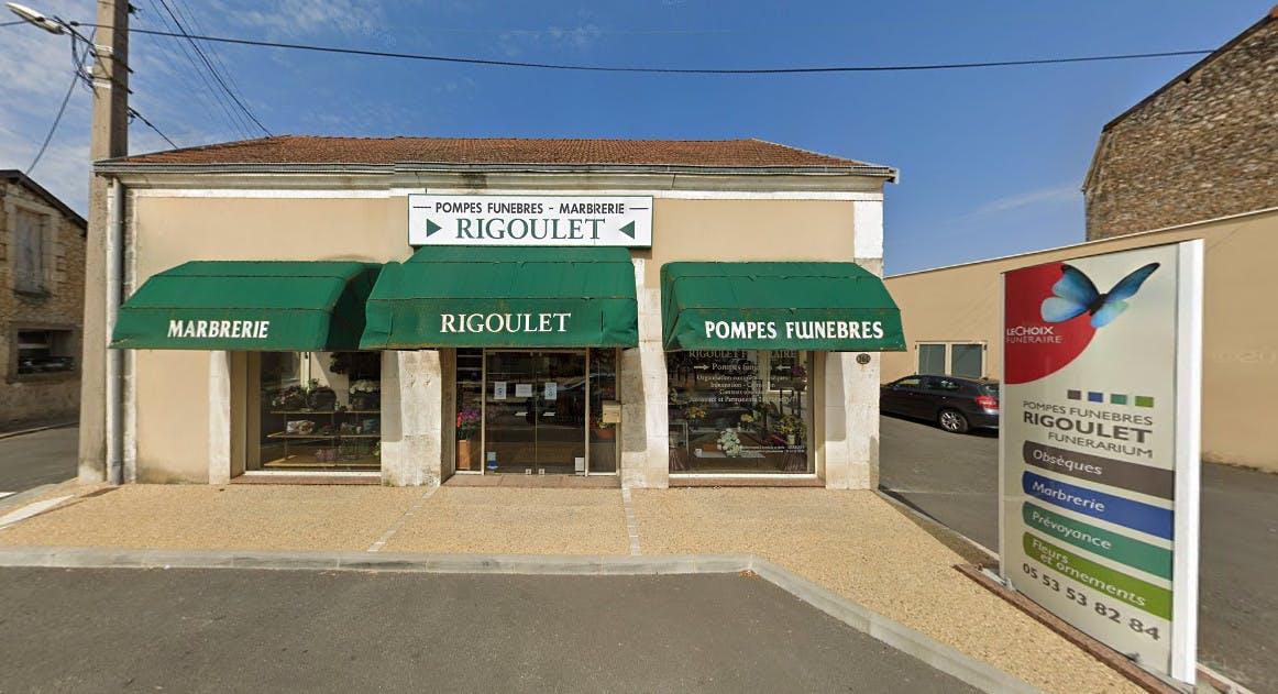 Photographies des Pompes Funèbres Marbrerie Rigoulet à Périgueux