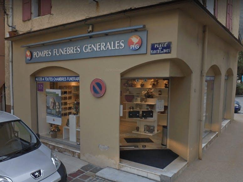 Photographie Pompes Funèbres Générales de Moutiers