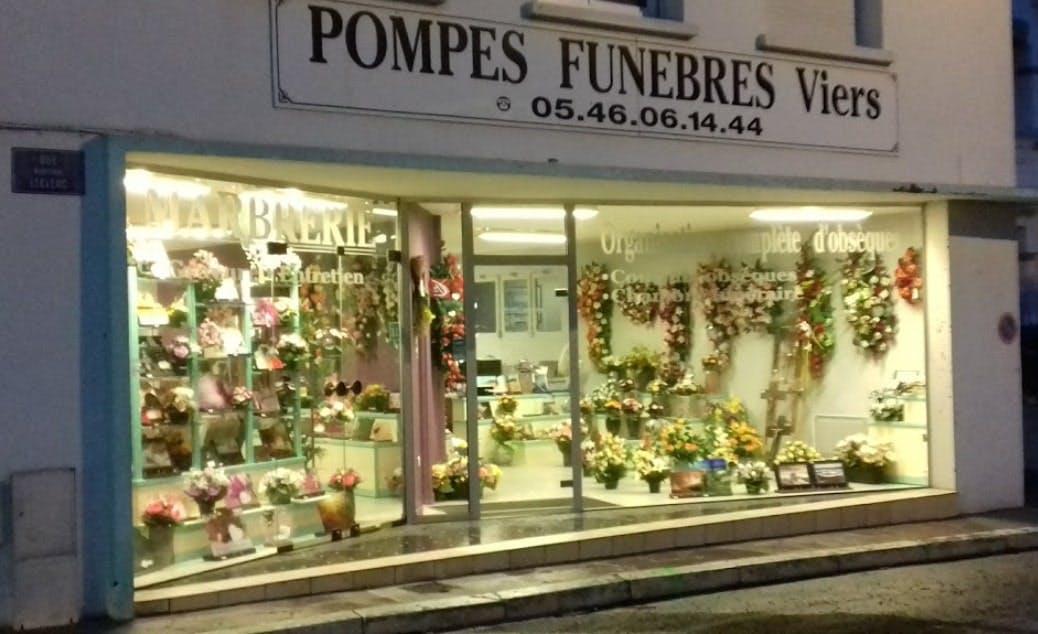 Photographies des Pompes Funèbres C.L Viers à Saint-Georges-de-Didonne