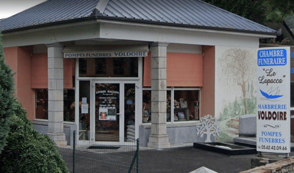 Photographie Pompes Funèbres Marbrerie VOLDOIRE de Lourdes
