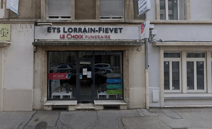 Photographie de la Pompes Funèbres Lorrain Fievet à Pont-à-Mousson