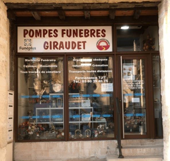 Photographie Pompes Funèbres Giraudet d'Auxonne
