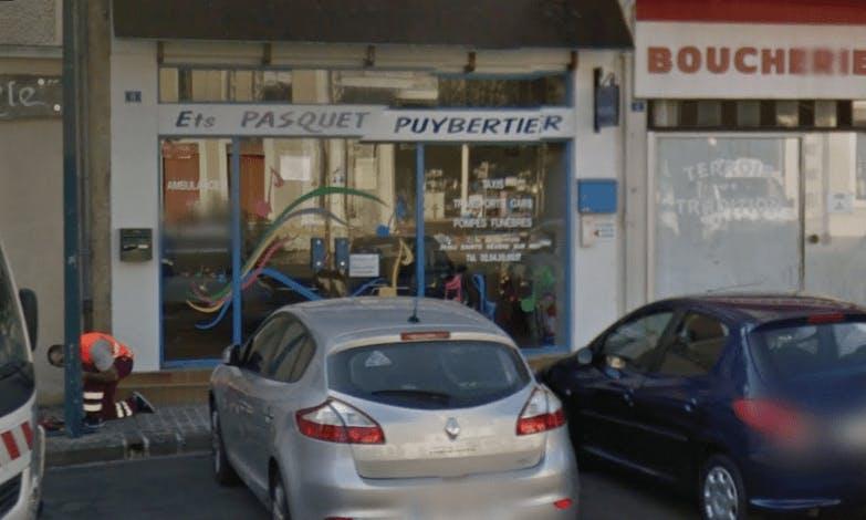 Photographie de la Pompes Funèbres Pasquet-Puybertier à Châteaumeillant