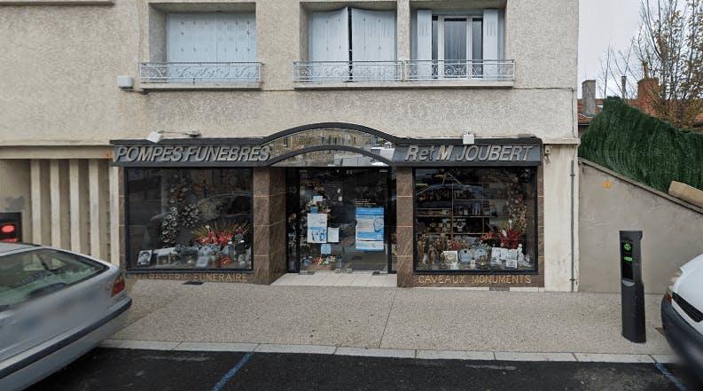 Photographie de la Pompes funèbres Joubert à Roche-la-Molière
