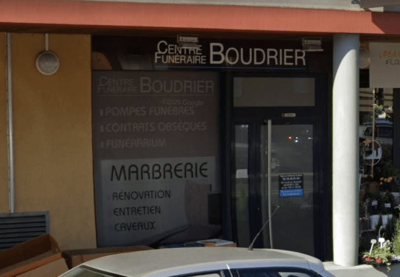Photographie de la Pompes Funèbres Boudrier à Saint-Bonnet-de-Mure
