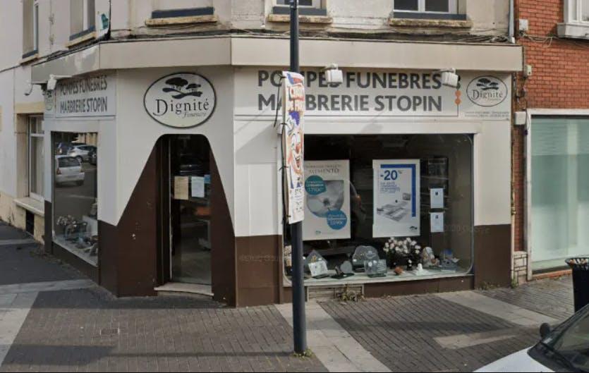 Photographie de la Pompes Funèbres et Marbrerie Stopin de Dunkerque