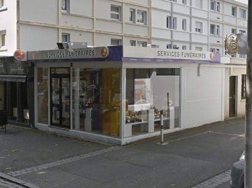 Photographie de la Pompes Funèbres Générales à Lorient