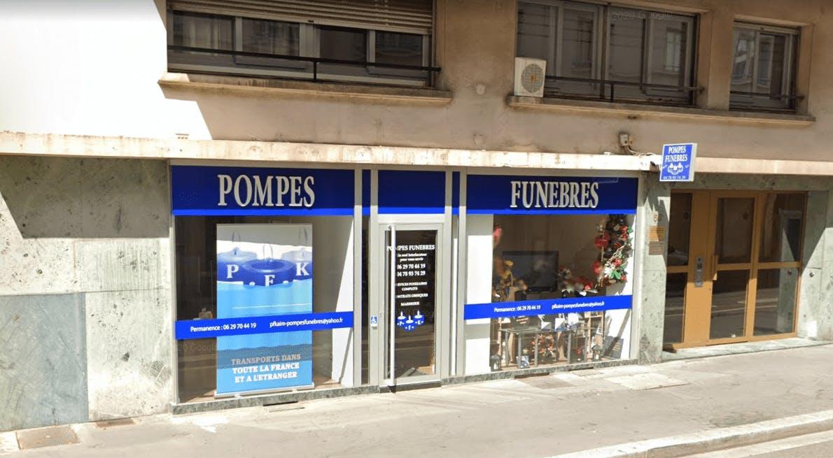 Photographie Pompes Funèbres PFK à Villeurbanne