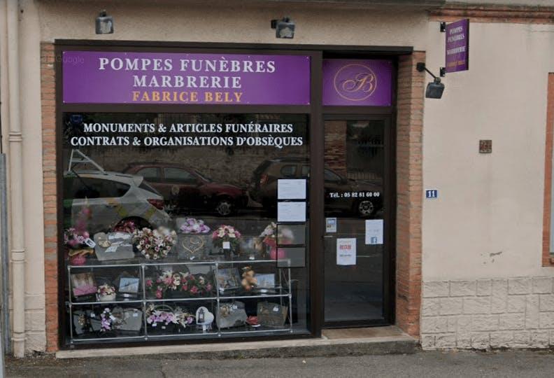 Photographie de la Pompes Funèbres et Marbrerie Fabrice Bely à Montech