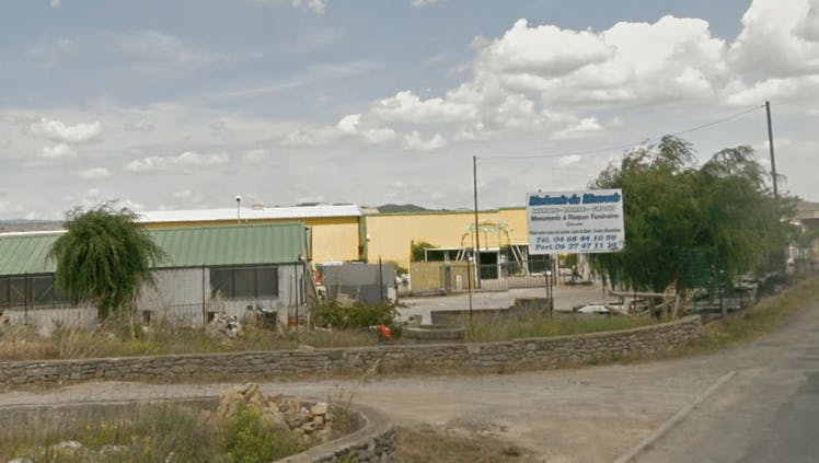 Photographie de la Marbrerie du Minervois sur Olonzac