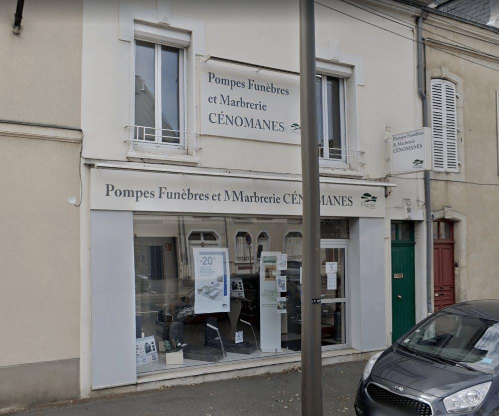 Photographie Pompes Funèbres et Marbrerie Cénomanes au Mans