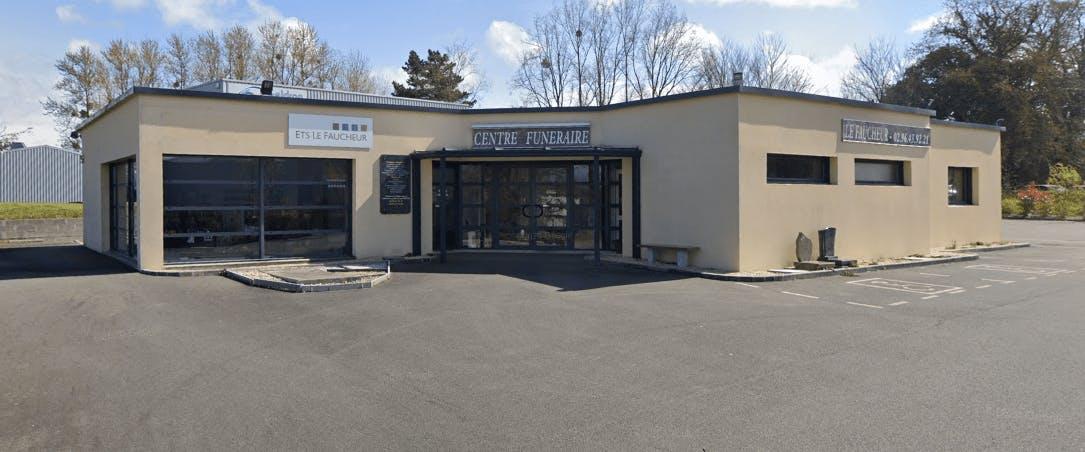 Photographie de la Pompes Funèbres et Marbrerie Le Faucheur à Ploumagoar