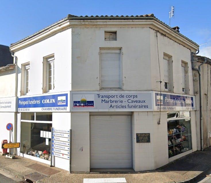 Photographies des Pompes Funèbres Colin à Saint-Jean-d'Angély