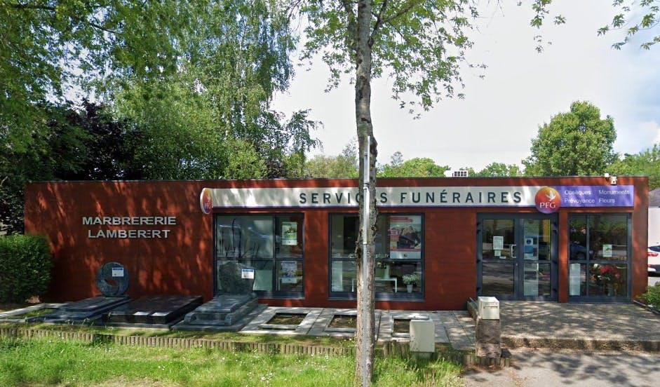 Photographies des Pompes Funèbres Genérales à Auray