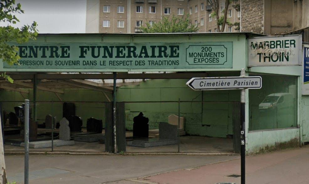 Photographie Centre Funéraire Marbrerie THOIN de Saint-Ouen