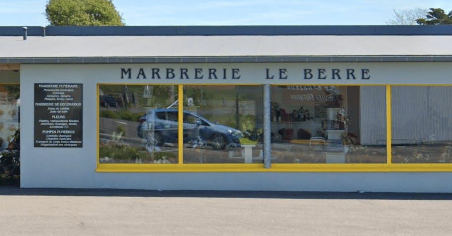Photographie de la Pompes funèbres et Marbrerie Le Berre & Fils à Plozévet