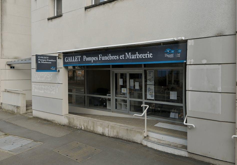Photographie Pompes Funèbres et Marbrerie Gallet à Rennes