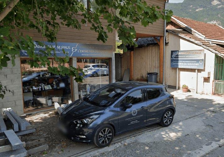 Photographie de la Marbrerie M. PAUL à Grenoble