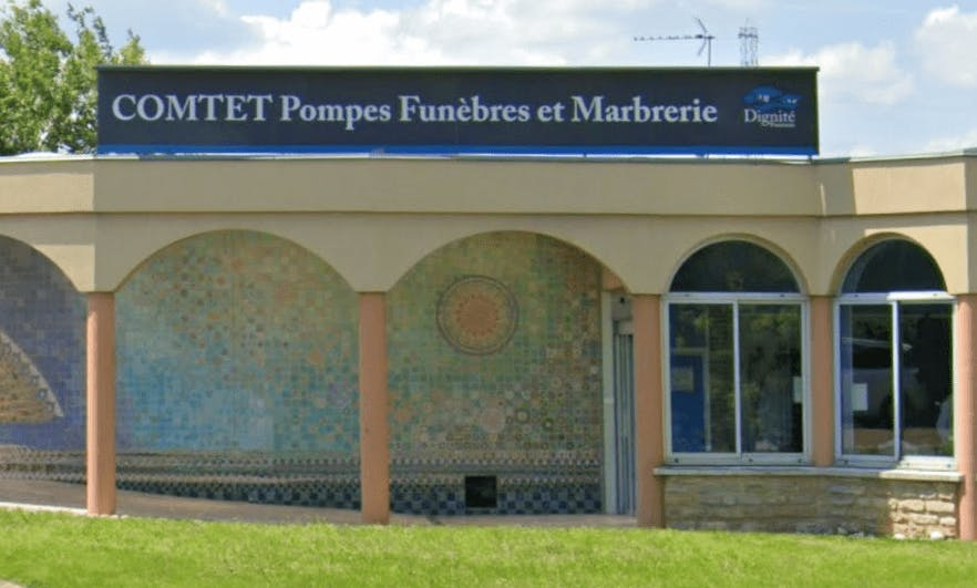 Photographie de Pompes Funèbres et Marbrerie Comtet de la ville de Viriat