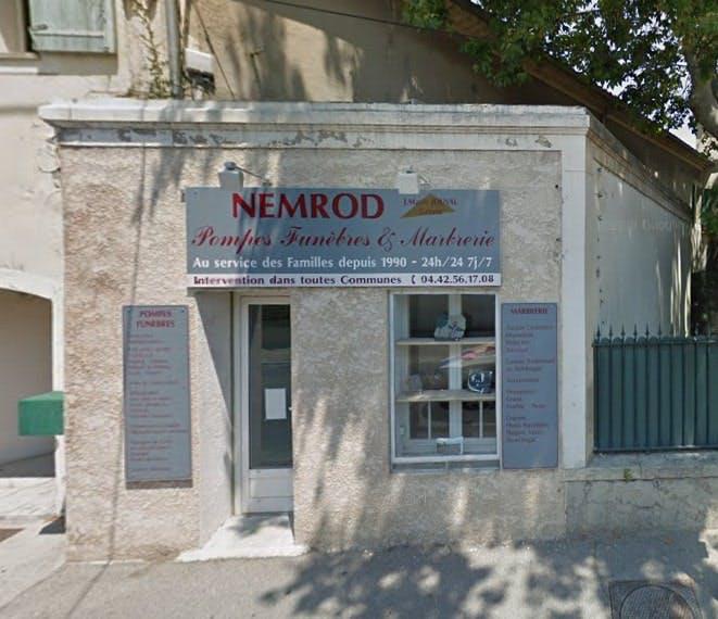 Photographies des Pompes Funebres Nemrod à Mallemort