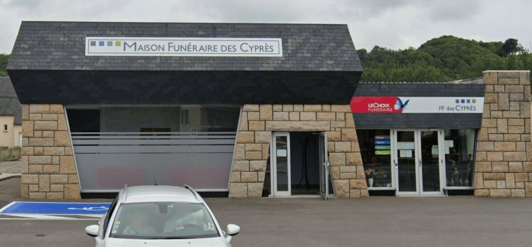 Photographie de la Maison des Cyprès à Avranches