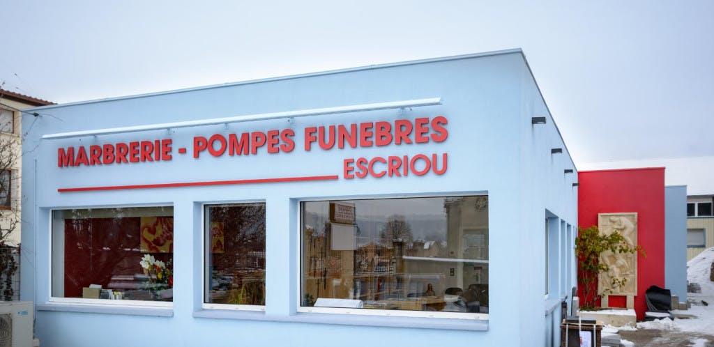 Photographie de Pompes funèbres Marbrerie ESCRIOU de Commercy