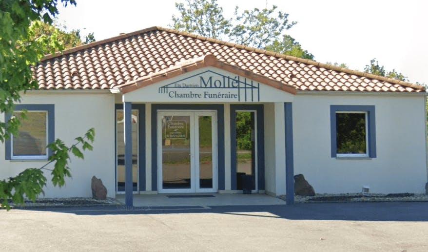 Photographie Pompes Funèbres Mollé de Chaillé-les-Marais