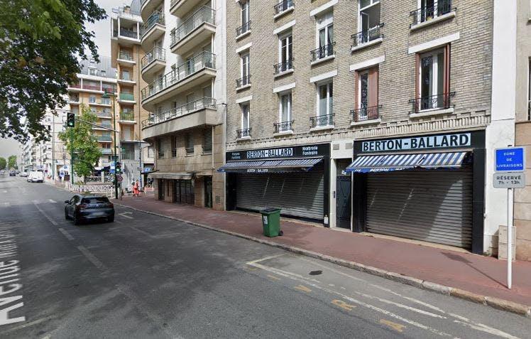 Photographie Pompes Funèbres Berton-Ballard Montrouge