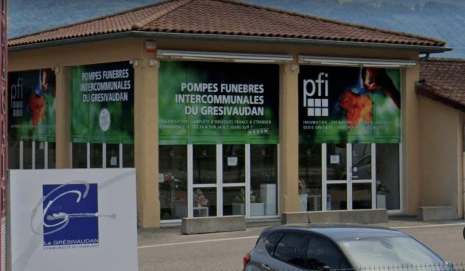 Photographie de la Pompes Funèbres Intercommunales à La Terrasse