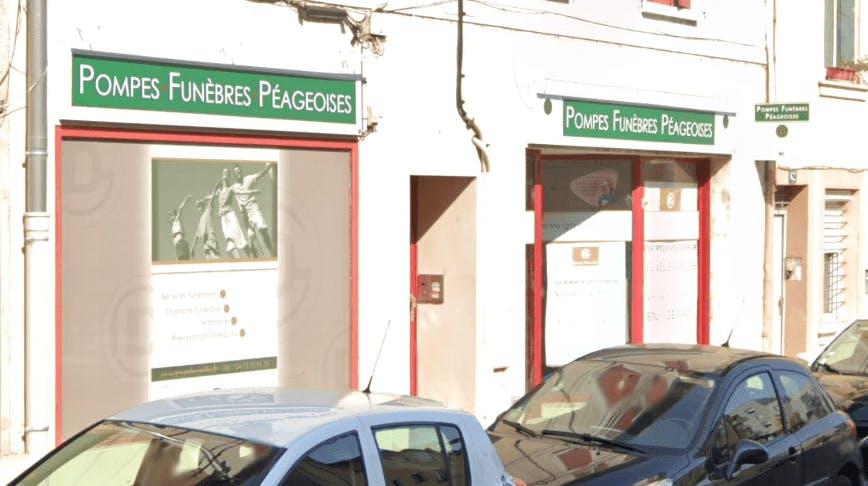 Photographie de la Pompes Funèbres PEAGEOISES à Bourg-de-Péage