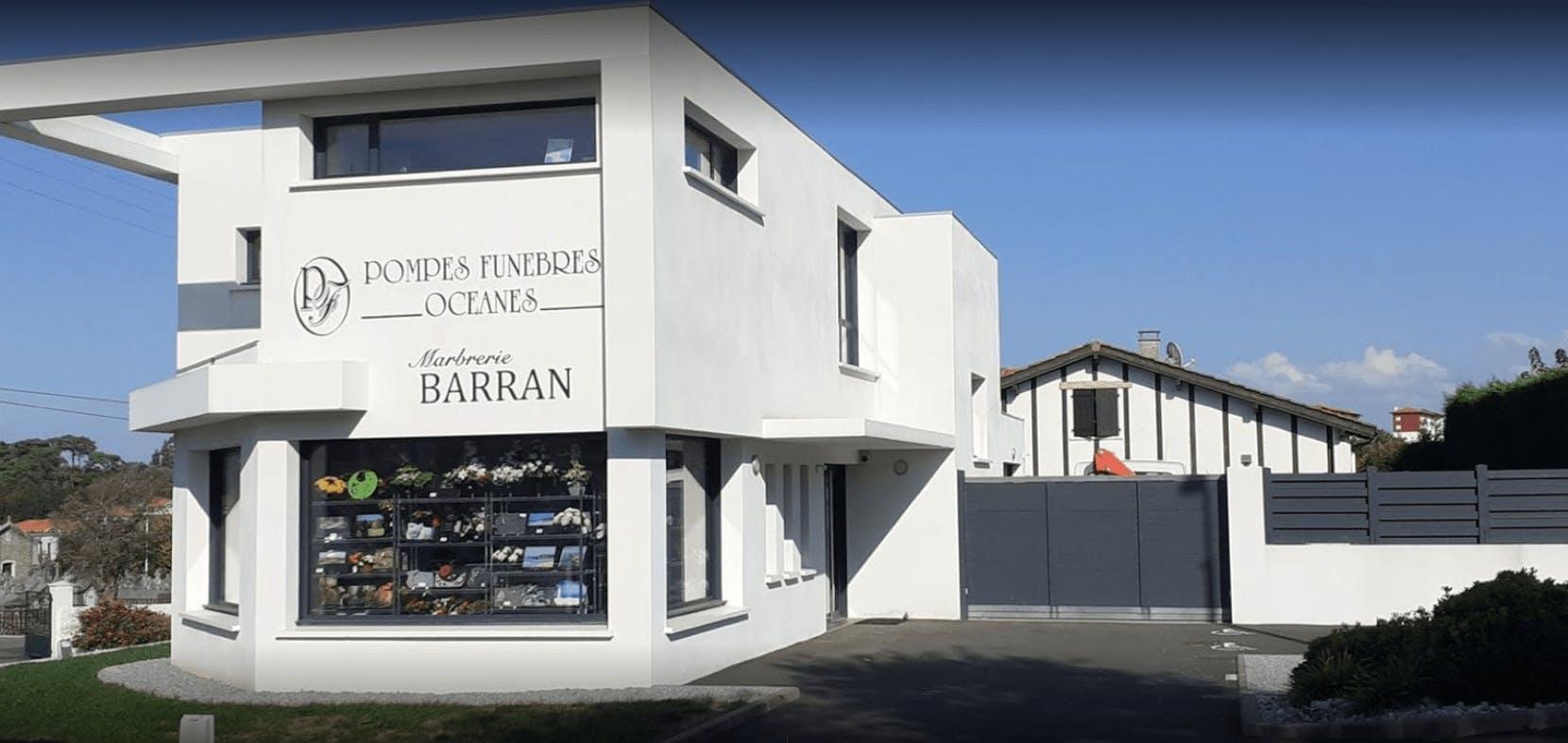 Photographie Pompes Funèbres Sarl Marbrerie Barran à Biarritz