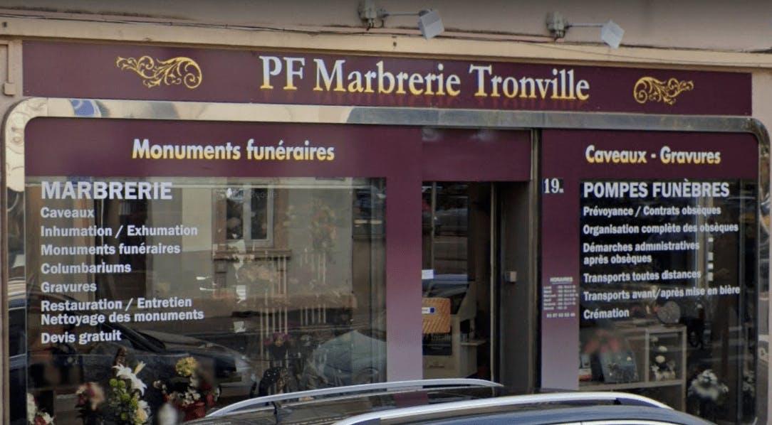Photographie Pompes Funèbres Marbrerie Tronville de Metz