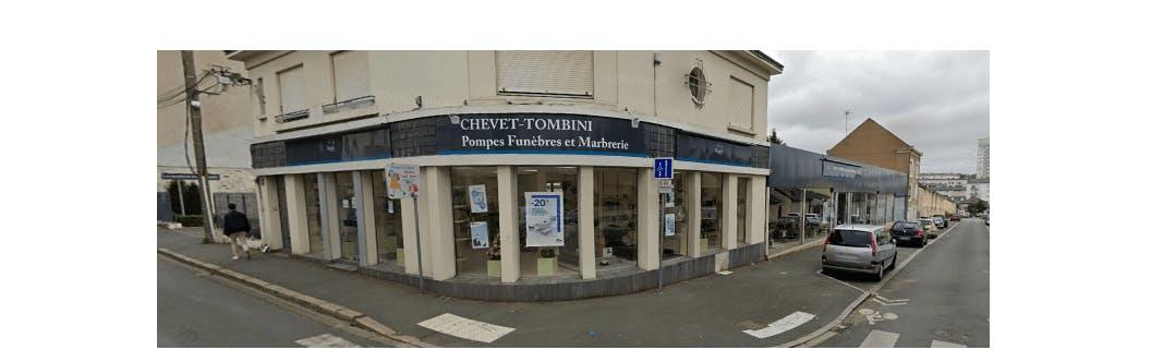 Photographie de la Pompes Funèbres et Marbrerie Chevet-Tombini à Saint-Etienne