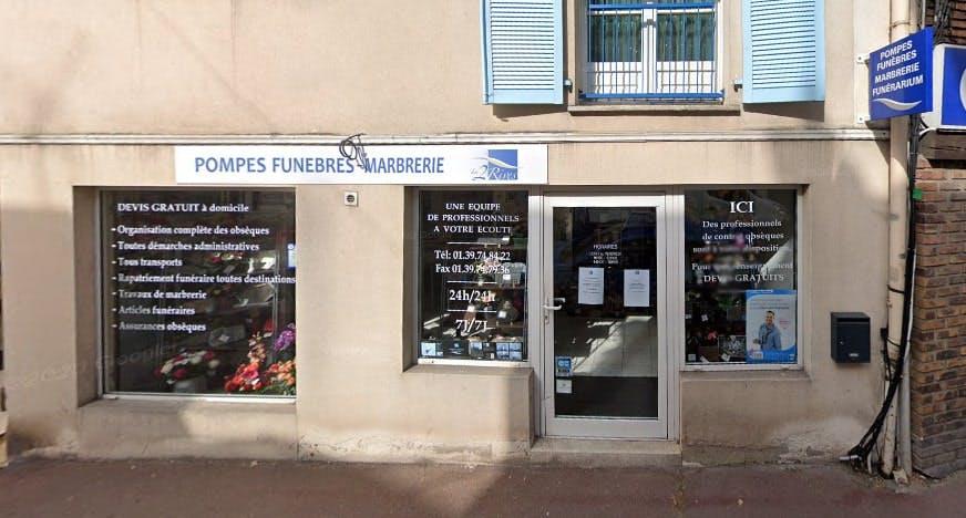 Photographies des Pompes Funèbres Marbrerie les 2 Rives à Triel-sur-Seine