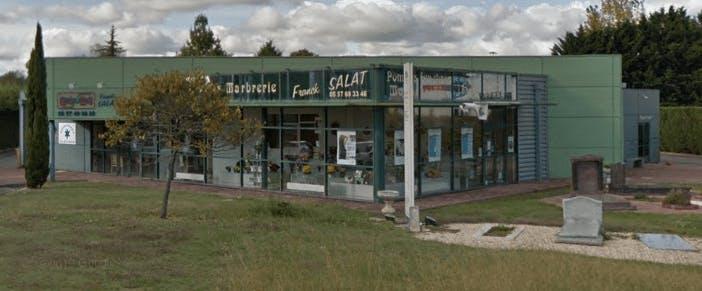 Photographie de la Pompes Funèbres et Marbrerie Franck Salat de la ville de Coutras